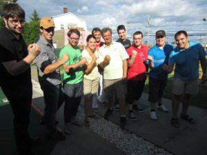AnnieJ et ses fans de mini-putt 2013