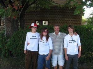 carl et fans de quebec 2010
