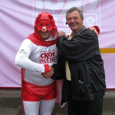 carl et supercochon 2009